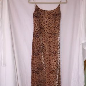 Size 4 Rimini by Shaw animal print gown